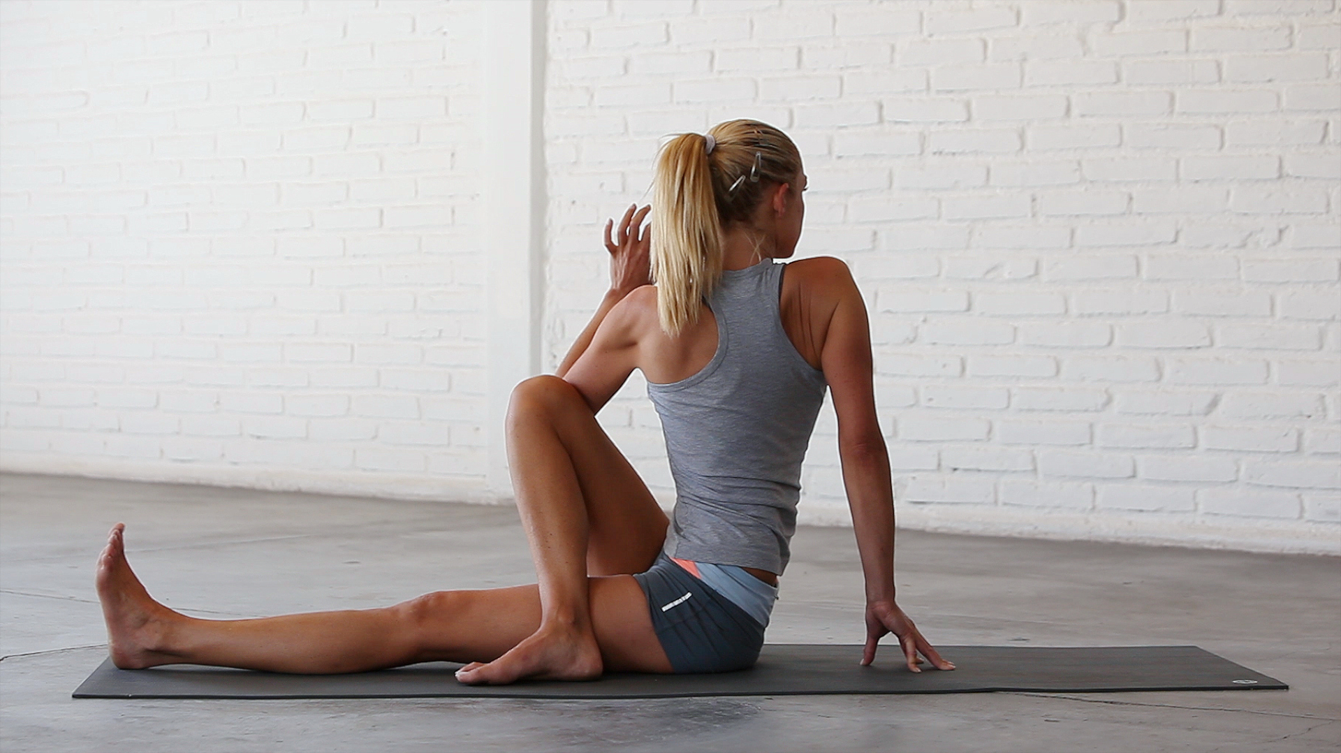 Modified Seated Spinal Twist