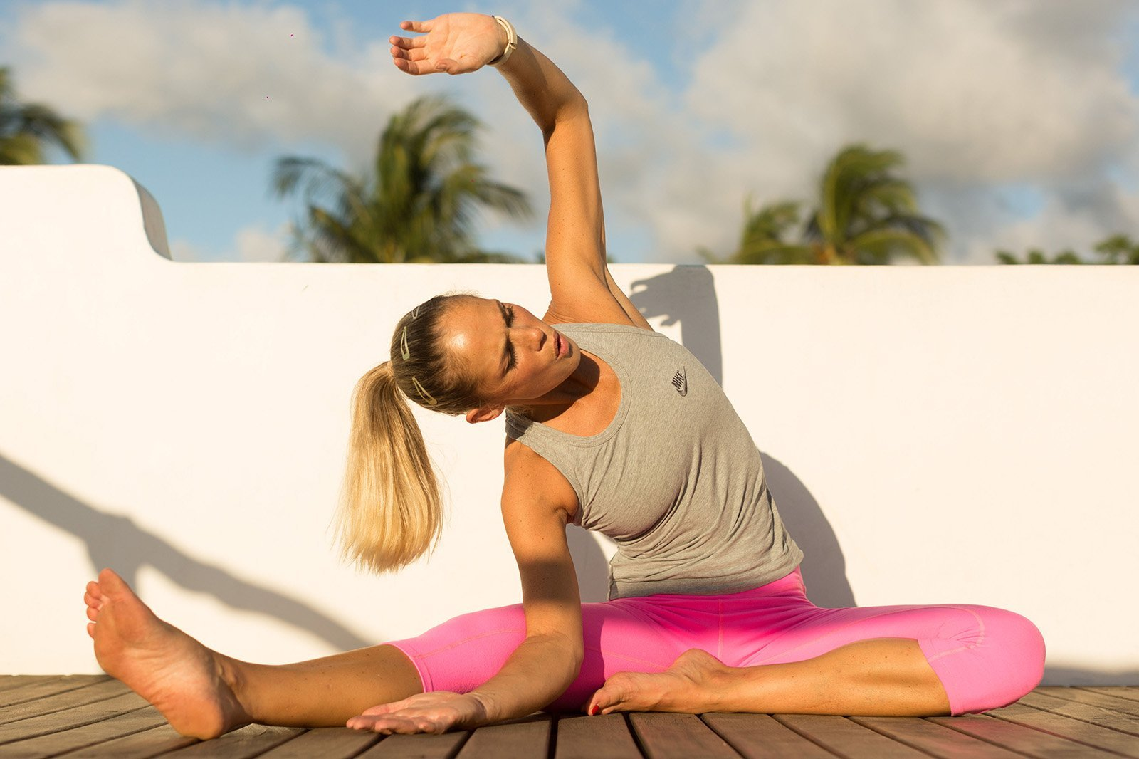 Yoga For Neck Pain After Mountain Biking | Yoga For ...