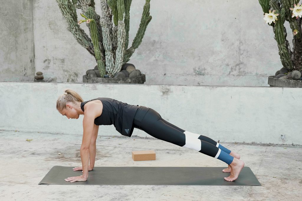 Plank—Strengthen The Core