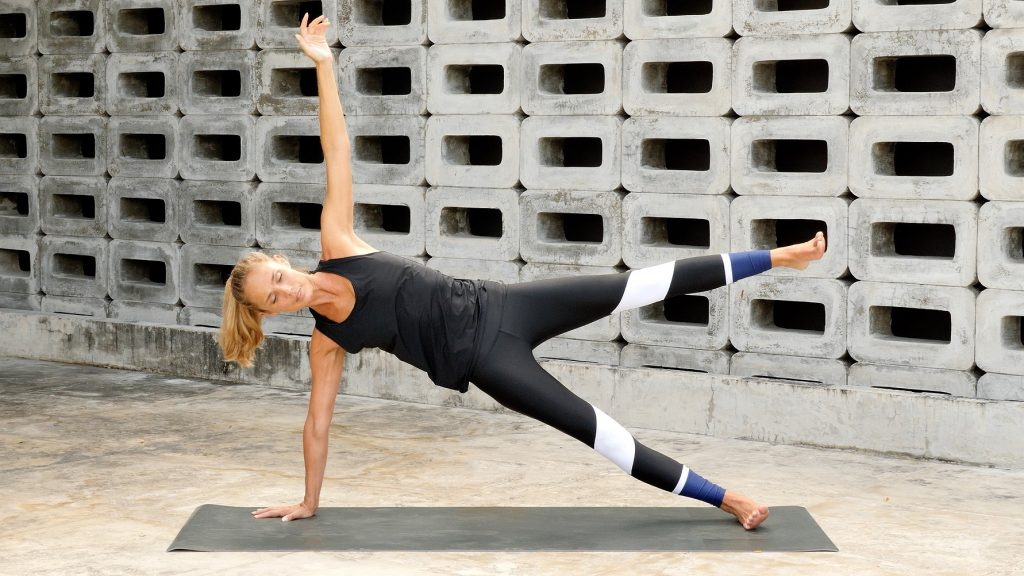 One-Leg Side Plank—Core Strength