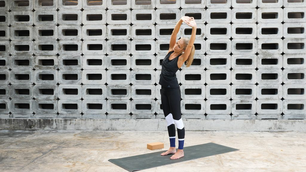 Standing Sidebend—Lateral Flexion